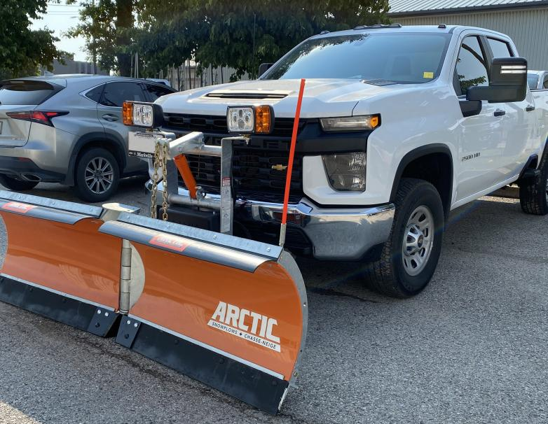 Arctic Heavy Duty V Trip Edge Poly Blade Snowplow
