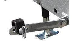 Arctic Plow Partner Rear Snowplow - Stabilizer Arms