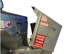 Arctic Galvanized Spreaders - Easily Accessible Hood