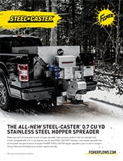 FISHER® Steel-Caster™ Compact Spreader 0.7 Sell Sheet