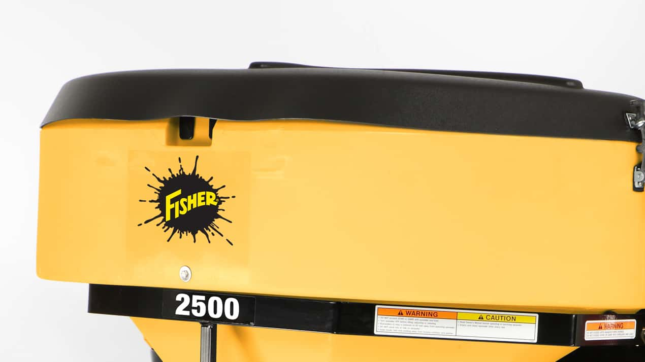FISHER® LOW PROFILE Tailgate Spreader - COVER