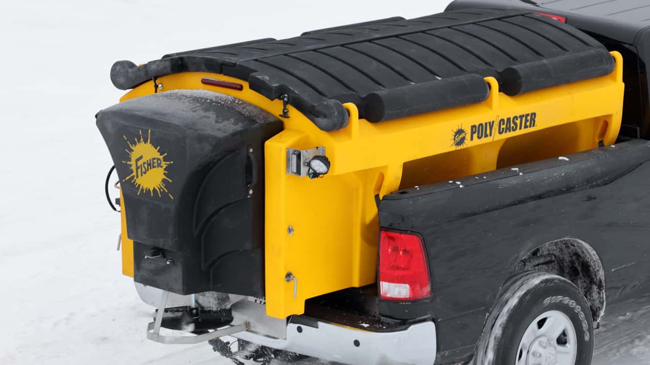 FISHER® POLY-CASTER™ Poly Hopper Spreader - COVER