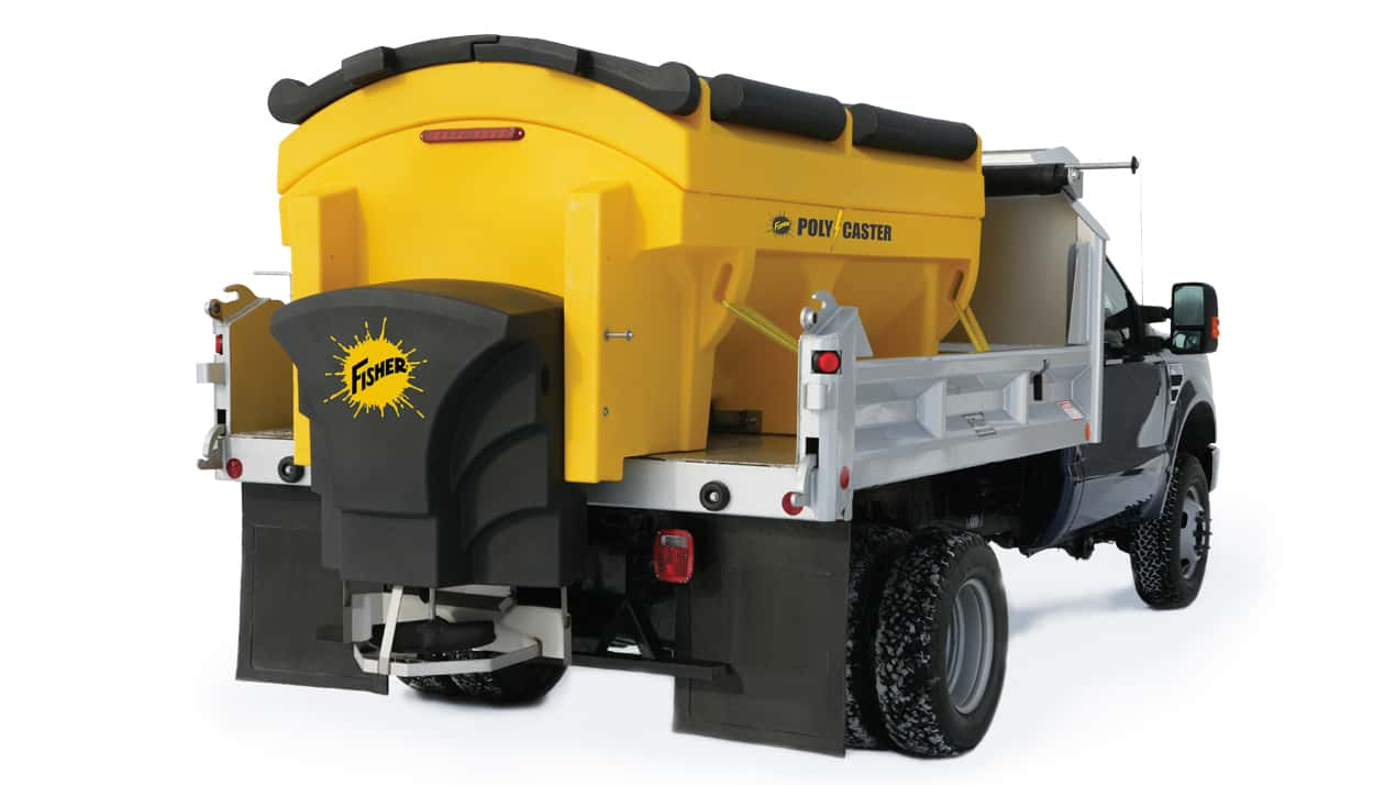 FISHER® POLY-CASTER™ Poly Hopper Spreader - CHUTE ASSEMBLY