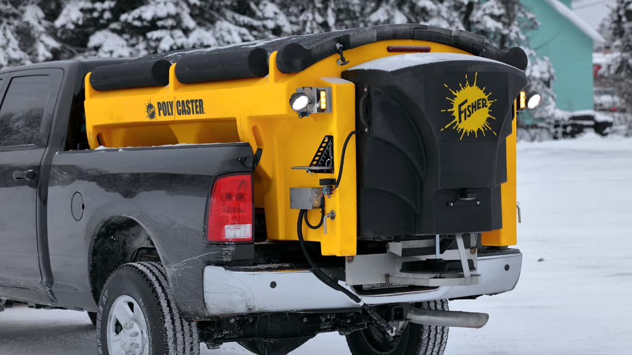 FISHER® POLY-CASTER™ Poly Hopper Spreader - ADDITIONAL STANDARD FEATURES