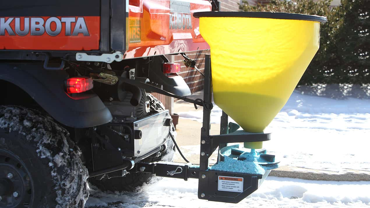 FISHER® QUICK-CASTER™ 300W Wireless Electric Tailgate Spreader - MOUNTING OPTIONS