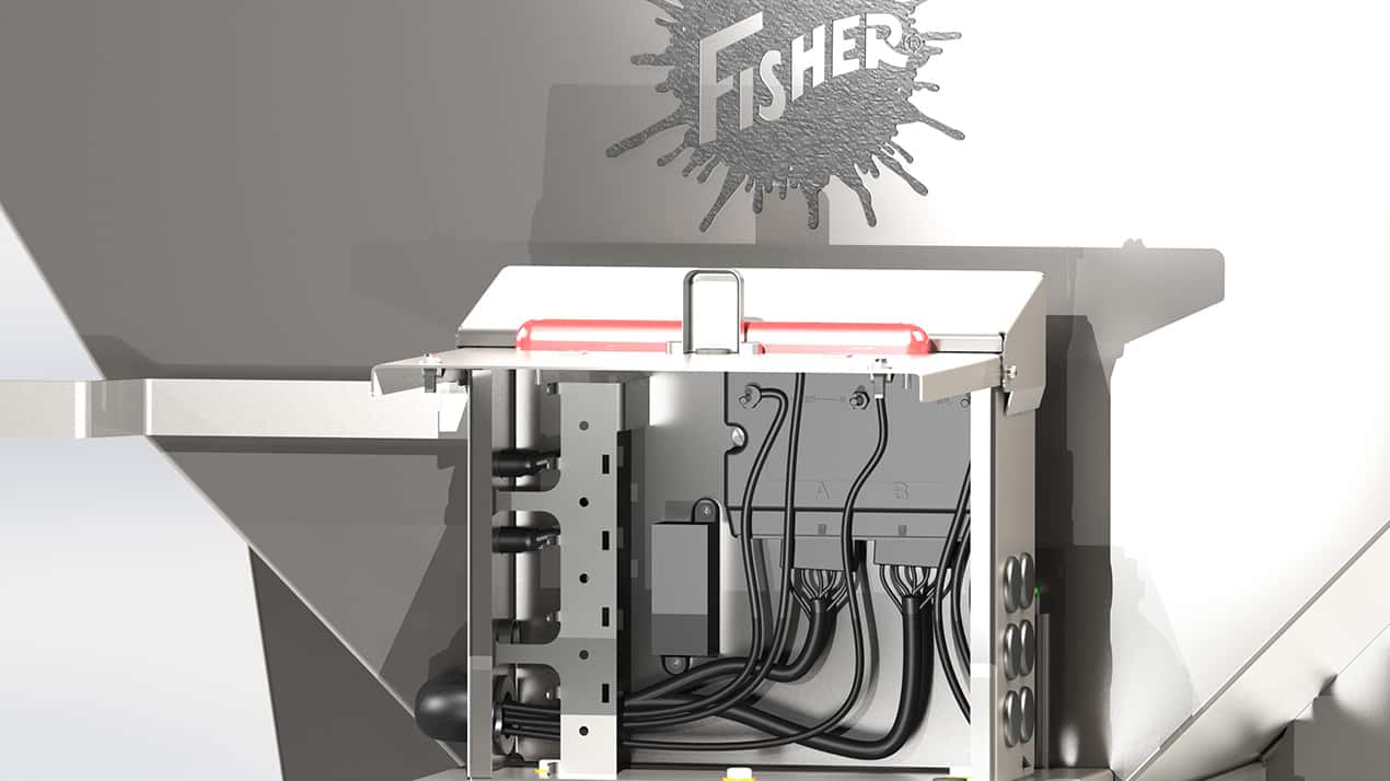 FISHER® Steel-Caster™ Spreader - ACCESSORY INTEGRATION