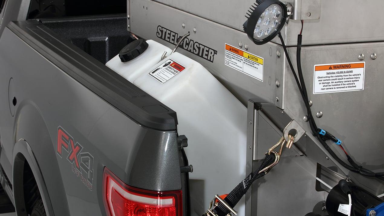Fisher STEEL-CASTER™ 0.35 & 0.7 cu yd Stainless Steel Hopper Spreader