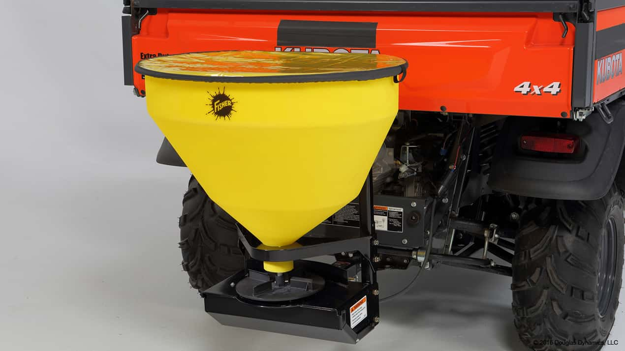 FISHER® QUICK-CASTER™ 300W Wireless Electric Tailgate Spreader
