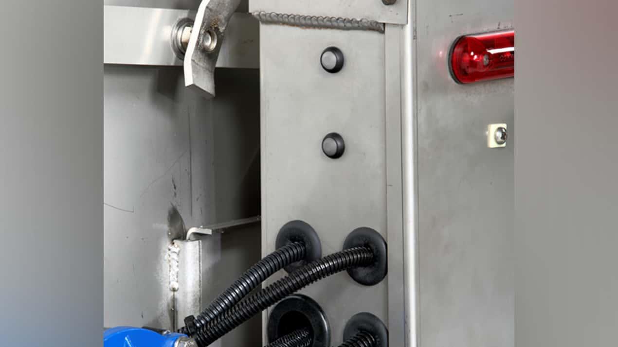 FISHER® Steel-Caster™ Spreader - DUMP BUTTON & WORK LIGHT SWITCHES
