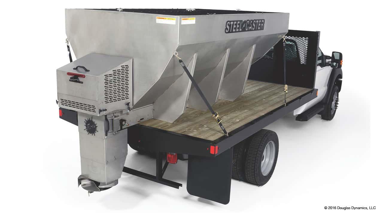 Fisher STEEL-CASTER™ 1.5 - 6.0 cu yd Stainless Steel Hopper Spreader
