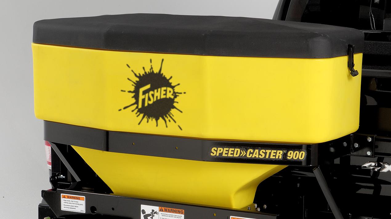FISHER® Speed-Caster™ 525 & 900 Tailgate Spreader - CORROSION-RESISTANT HOPPER
