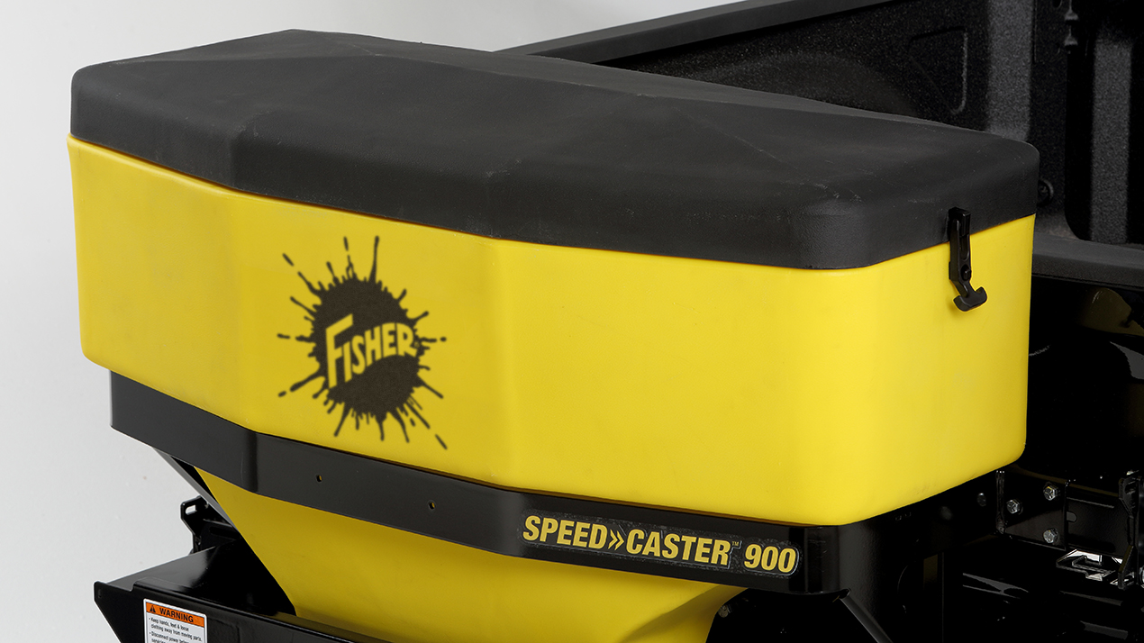 FISHER® Speed-Caster™ 525 & 900 Tailgate Spreader - COVER