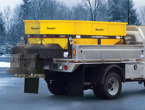 <strong><u>Cab Forward Design</u></strong><br/>The cab forward hopper delivers better payload distribution to reduce stress on the truck.