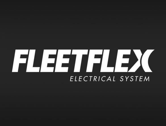 <strong><u>FLEET FLEX</u></strong><br/>The FLEET FLEX electrical system provides a consistent electrical platform and complete fleet interchangeability between all HELIXX spreaders.