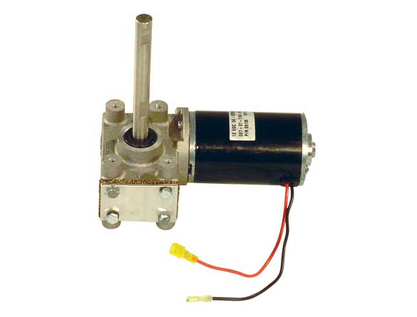 <strong><u>Spinner Motor</u></strong><br/>The spinner motor transmission is completely electric powered. It draws electricity from the vehicle and offers plenty of power to the spreader. Also, it's protected from the elements by a sealed drive enclosure.