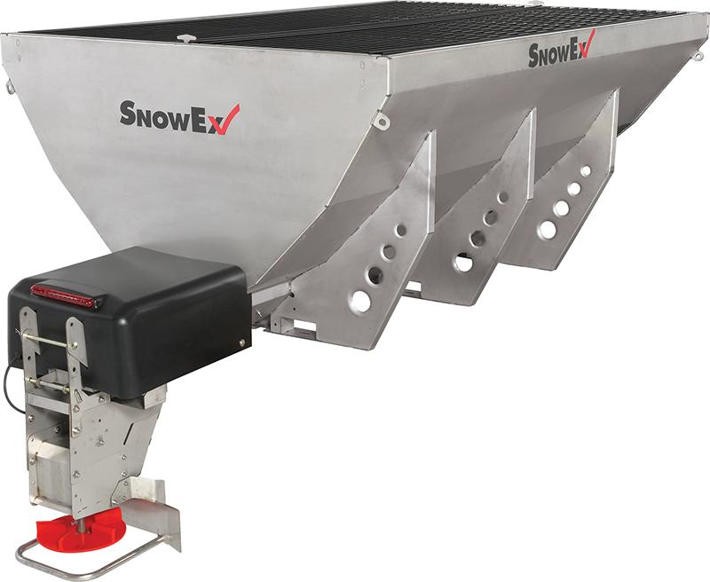 SnowEx Helixx™ Stainless Steel Hoppers