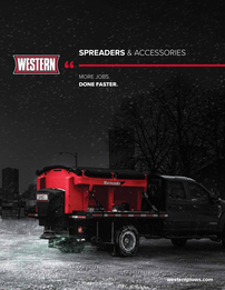 Western Spreader Full-line Product Brochure