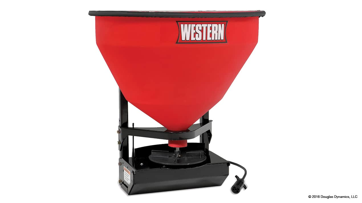 WESTERN® LOW-PRO 300W Wireless Electric Tailgate Spreader