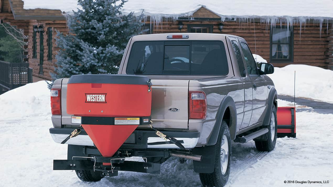 Western® LOW PROFILE Tailgate Spreader