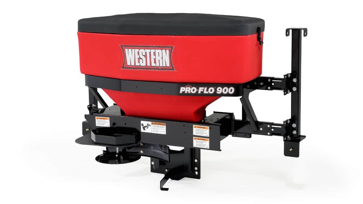WESTERN® Pro-Flo™ 525 & 900 Tailgate Spreader - CORROSION-RESISTANT HOPPER