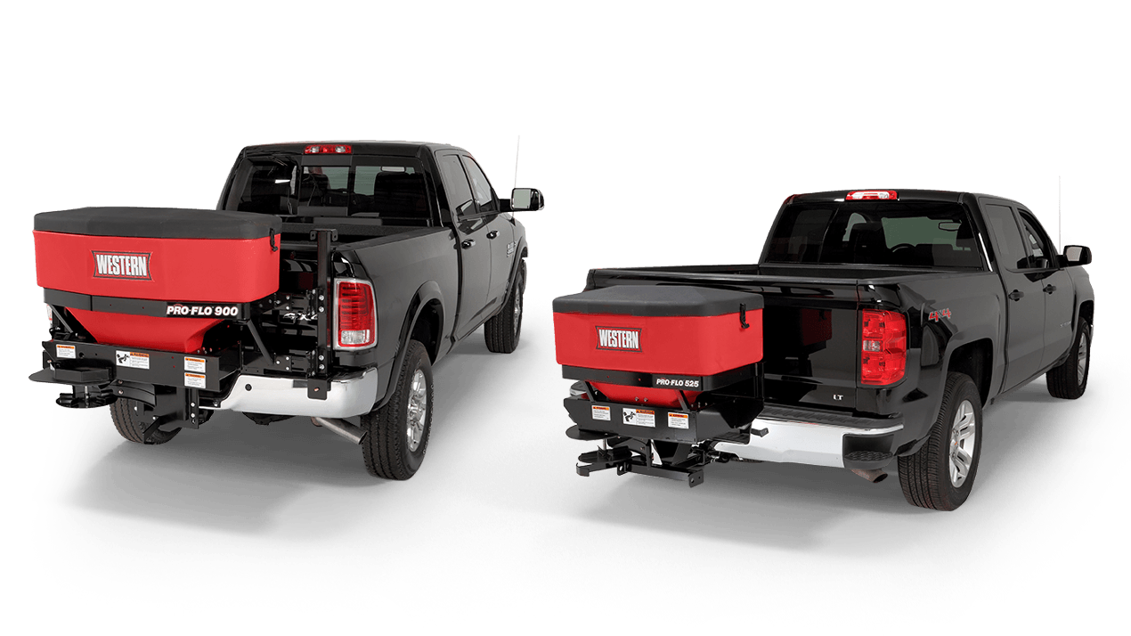 WESTERN® Pro-Flo™ 525 & 900 Tailgate Spreader