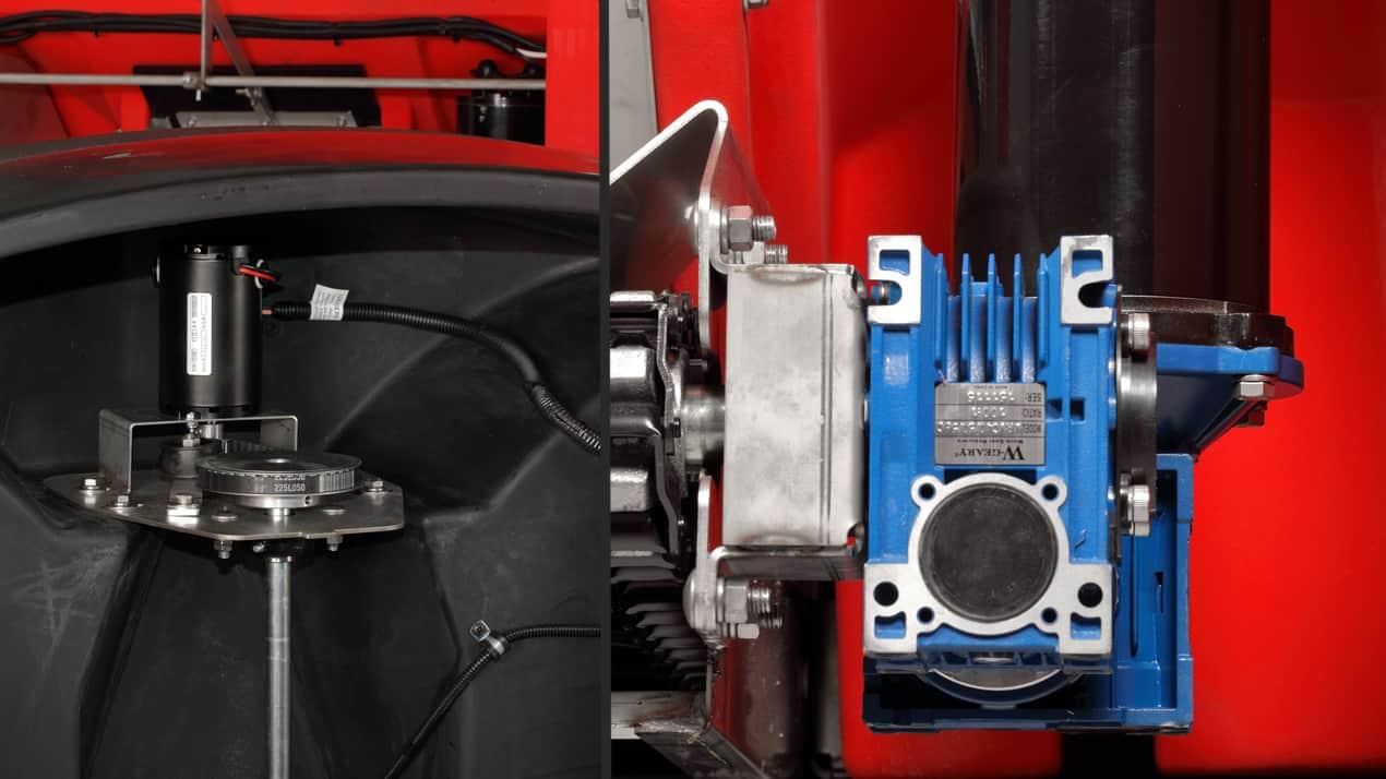 Western TORNADO™ POLY HOPPER SPREADER - DUAL ELECTRIC MOTORS