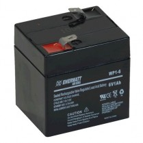 WP1-6   BATT AGM 6V 1A SEALED
