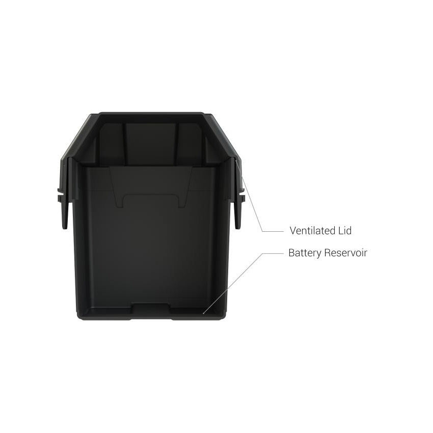 HM082BK battery box for groupe U1