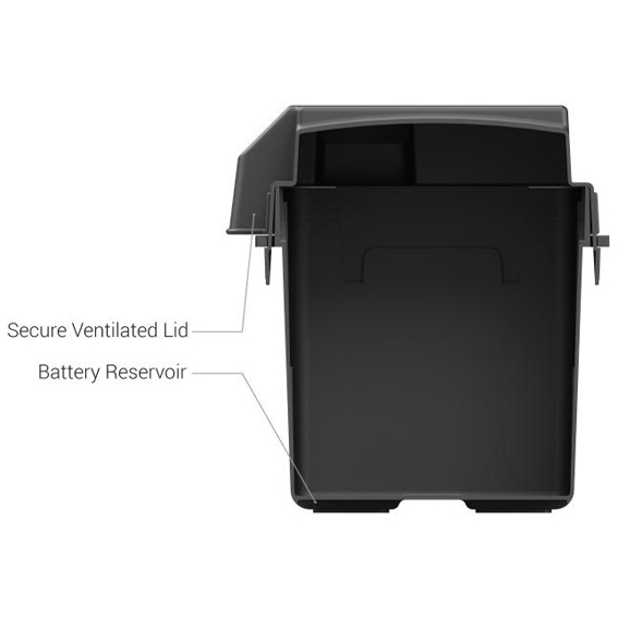 HM318BK battery box for groupe 27 or 31