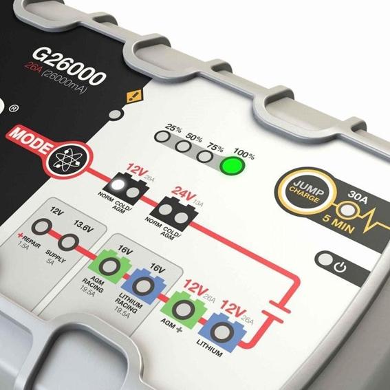 NOCO G26000EU Genius Chargeur de batterie intelligent 12//24V 26A
