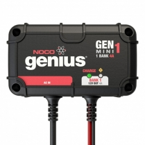 GENMINI1   GENIUS CHARGER MINI 1 BANK ON BOARD 12V 4A AUTO