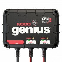 GENMINI2   GENIUS CHARGER MINI 2 BANK ON BOARD 12V 4A AUTO