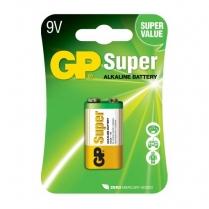 GP1604A-5U1   9V alkaline battery GP Super