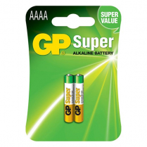 GP25A-2U2    AAAA alkaline battery 1.5V GP Super