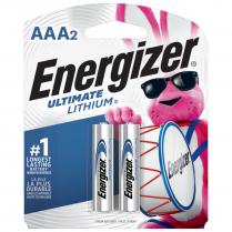 L92BP2   BATT ENERGIZER ULTIMATE LITHIUM AAA PKG 2