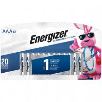 L92SBP12   BATT ENERGIZER ULTIMATE LITHIUM AAA PKG 12 (L92PP2-6)