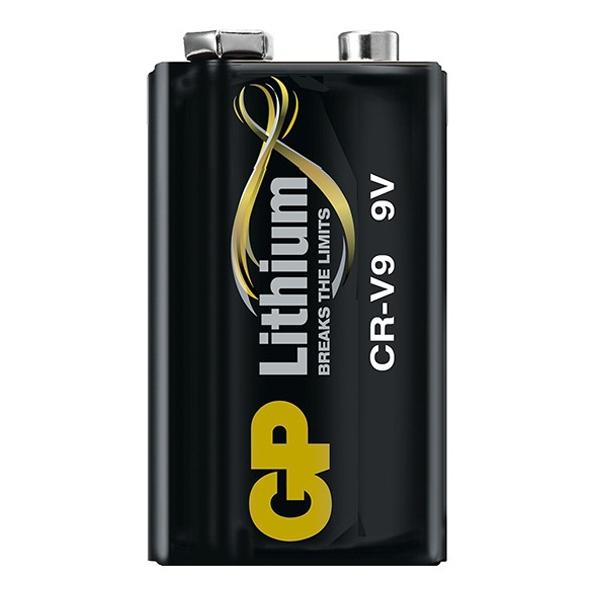 GPCRV9SD 2U1 PILE LITHIUM 9V GP C/1
