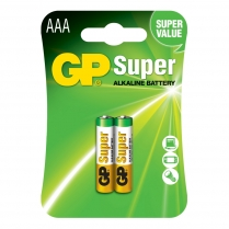 GP24A-2U2  PILE ALCALINE AAA GP SUPER C/2
