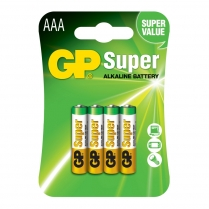 GP24A-2U4  PILE ALCALINE AAA GP SUPER C/4