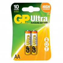 GP15AU-2UE2   Alkaline battery AA 1.5V GP Ultra (card of  2)