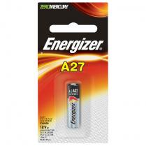 A27BPZ   ALKALINE HIGH-VOLTAGE BATT 12.0V A27 ENERGIZER 1/PK