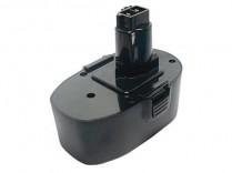 DR-5080 pile de remplacement pour outil sans fil Black & Decker Ni-Cd 18V 1.5Ah
