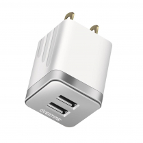 OTH2USB2ASL   Chargeur mural avec double USB-A  2.4A total