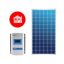 CH-210W12V-MPPT   Ensemble solaire pour chalet 12V 210W MPPT