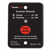 S-R5   REMOTE CONTROL FOR SA-1500 WITH 10' CABLE