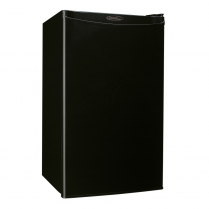 DB3-BK   12/24V BLACK FRIDGE 1 DOOR 3,2' CUBE