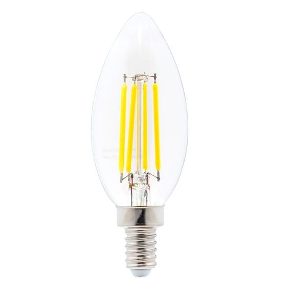 EWL-LEDC37-4-NW   FILAMENT BULB LED C37 12V 4W NW (PKG2)