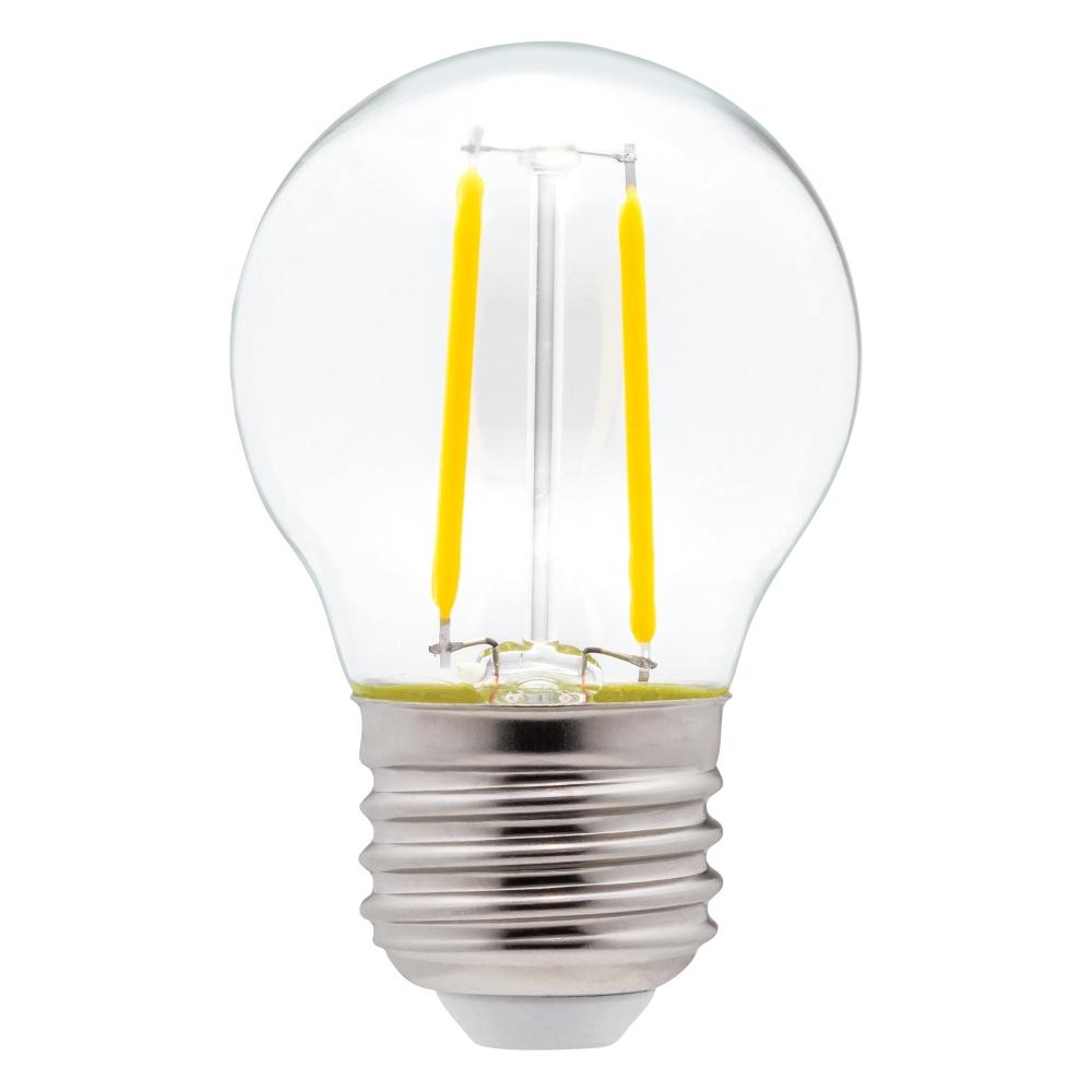 EWL-LEDG45-4-NW   FILAMENT BULB LED G45 12V 4WATT NW (PKG2)