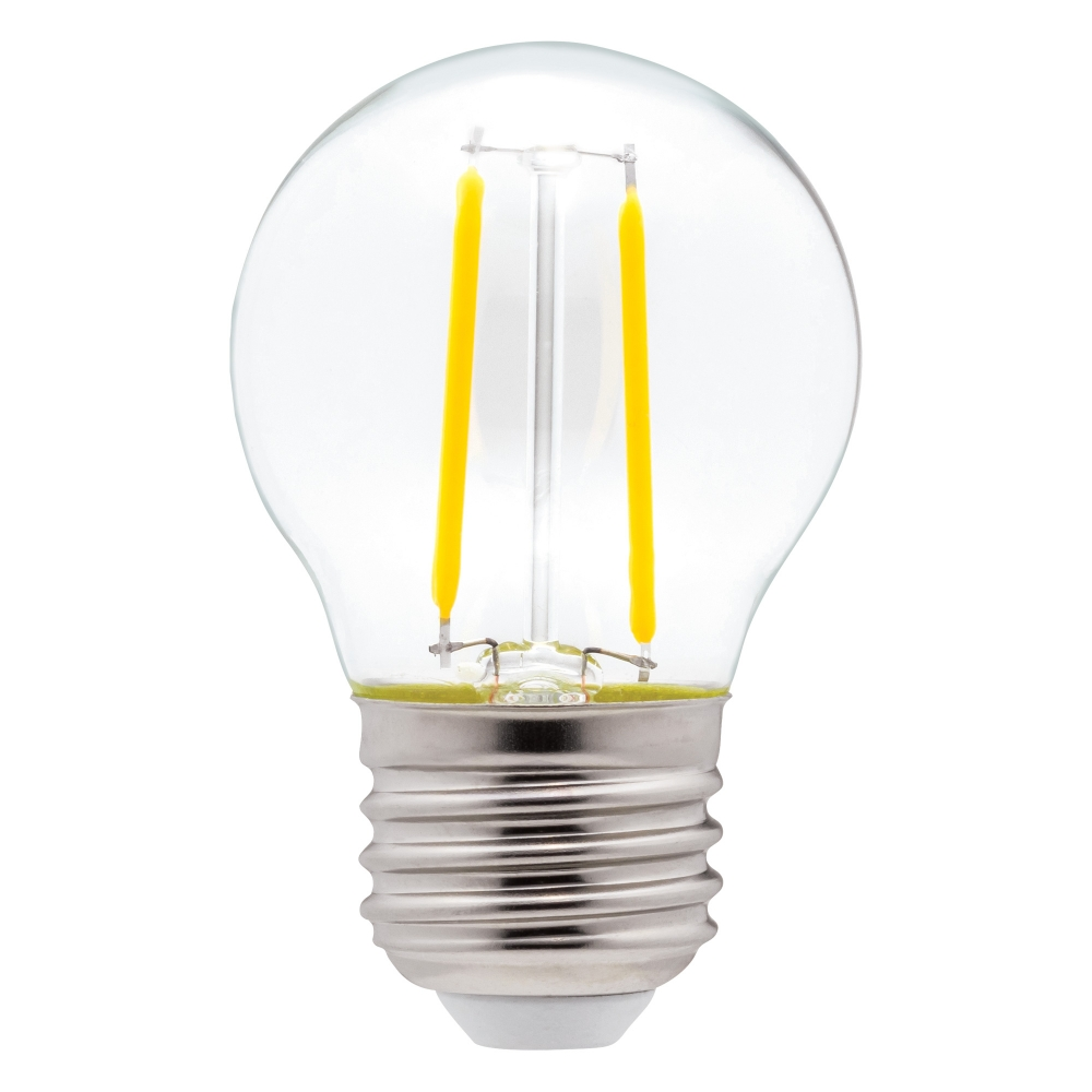 EWL-LEDG45-4-WW   FILAMENT BULB LED G45 12V 4WATT WW  (PKG2)
