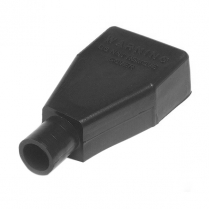 QC5723-005B   STRAIGHT CLAMP COVER BLACK 1-2 AWG (5/PK)